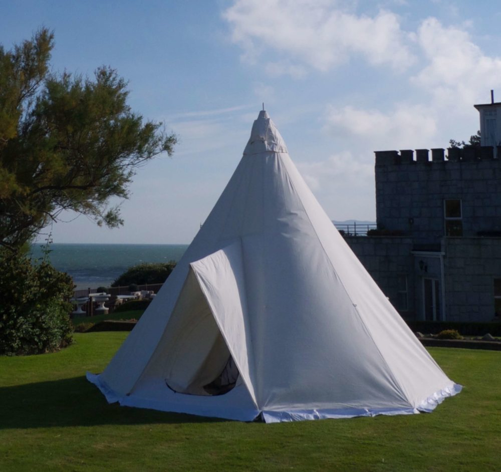 Tardis Tipi 5m Electric Picnic Festival 2019 Silk Road Tents