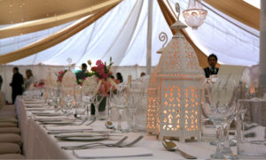 Wedding Tent Raj Marquee with Silk Road Tents