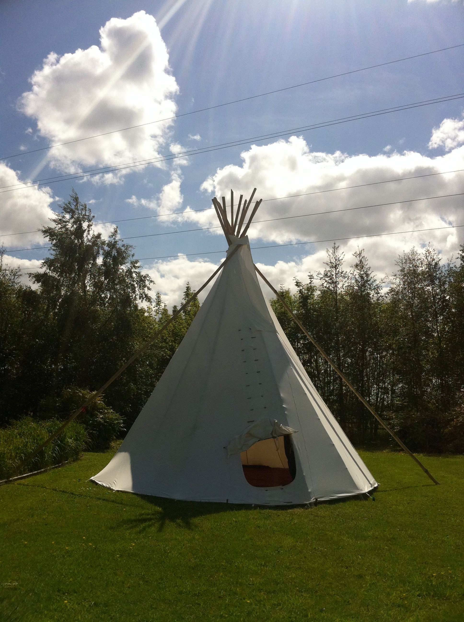 Tipi 6m Electric Picnic Festival 2019 Silk Road Tents