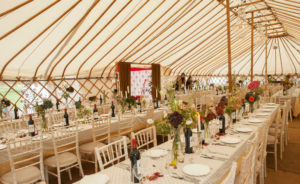 Interior Yurt Marquee